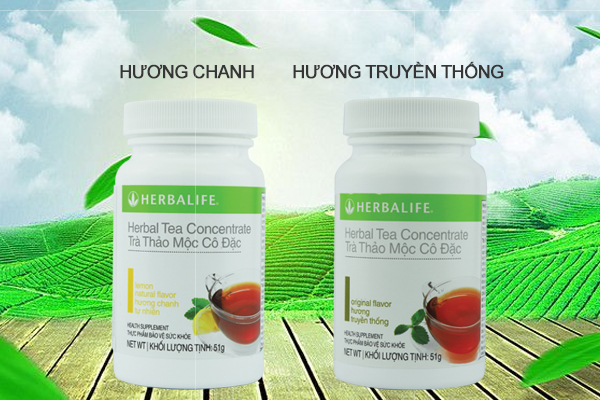 Tra thao moc herbalife